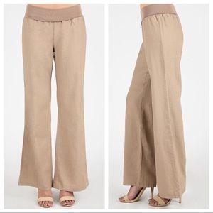 Pants - 🆕 Bali Light Mocha Linen Pants